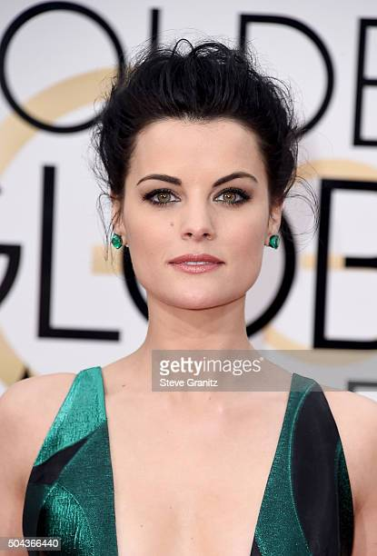 Actress Jaimie Alexander attends the 73rd Annual Golden Globe Awards held at the Beverly Hilton Hotel on January 10 2016 in Beverly Hills California
