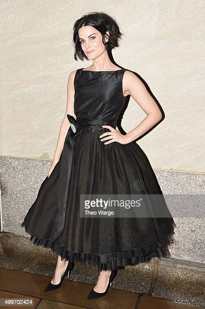 Actress Jaimie Alexander attends the 83rd Rockefeller Center Tree Lighting on December 2 2015 in New York City