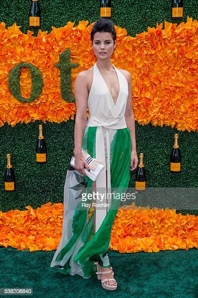 Actress Jaimie Alexander attends the 9th Annual Veuve Clicquot Polo Classic at Liberty State Park on June 4, 2016 in Jersey City, New Jersey.