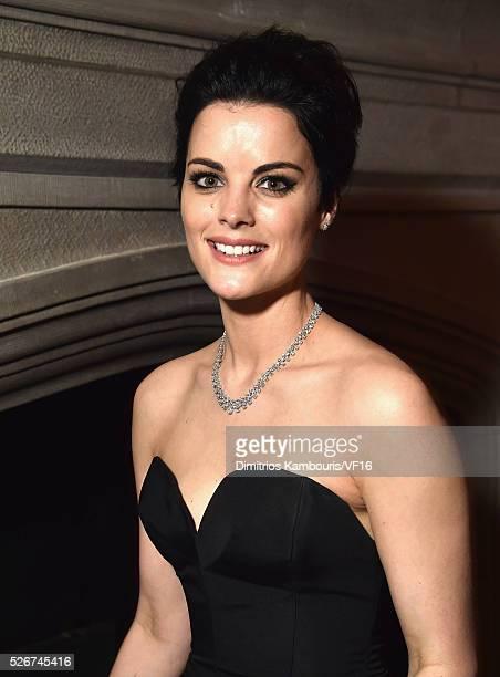 Actress Jaimie Alexander attends the Bloomberg Vanity Fair cocktail reception following the 2015 WHCA Dinner at the residence of the French...