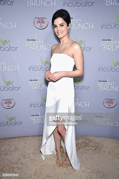 Actress Jaimie Alexander attends the Garden Brunch prior to the 102nd White House Correspondents' Association Dinner at the BeallWashington House on...