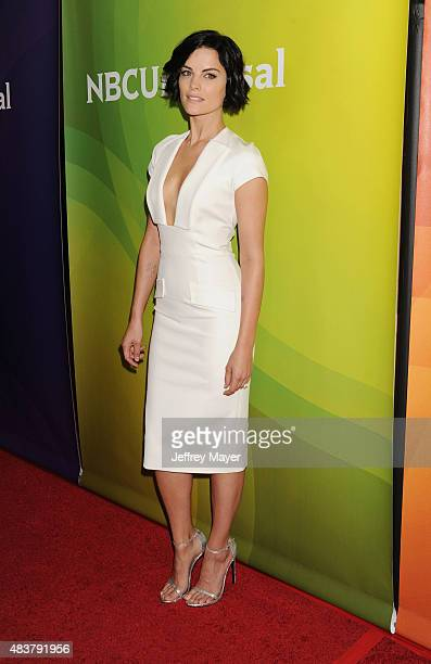 Actress Jaimie Alexander attends the NBCUniversal press tour 2015 at the Beverly Hilton Hotel on August 12, 2015 in Beverly Hills, California.