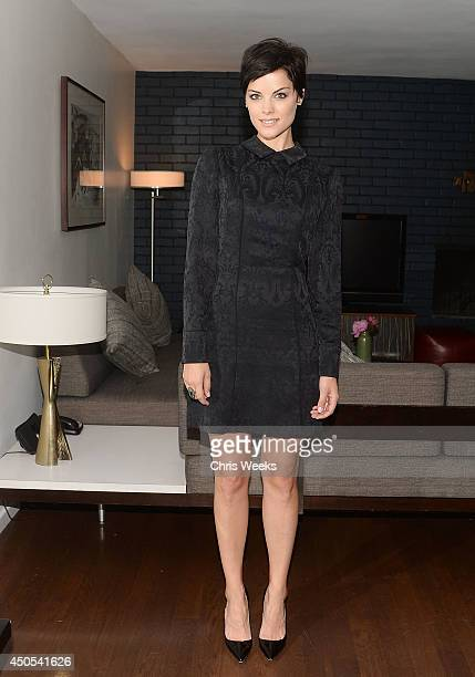 Actress Jaimie Alexander attends the Pickett Fall preview hosted by Caley Rinker at Chateau Marmont on June 12 2014 in Los Angeles California