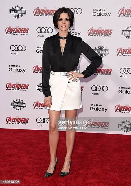 """Actress Jaimie Alexander attends the premiere of Marvel's """"Avengers: Age Of Ultron"""" at Dolby Theatre on April 13, 2015 in Hollywood, California."""