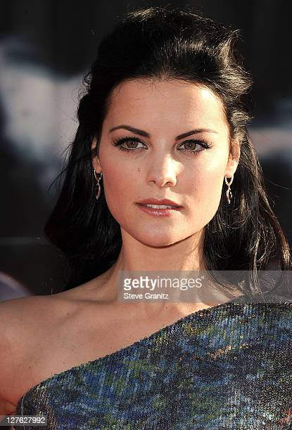 "Actress Jaimie Alexander attends the ""Thor"" Los Angeles Premiere at the El Capitan Theatre on May 2, 2011 in Hollywood, California."