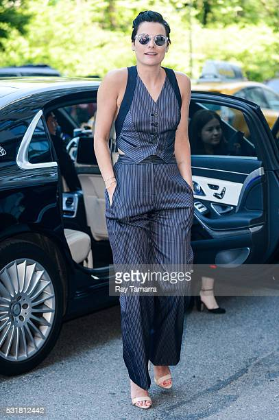 Actress Jaimie Alexander enters a Midtown Manhattan hotel on May 16, 2016 in New York City.