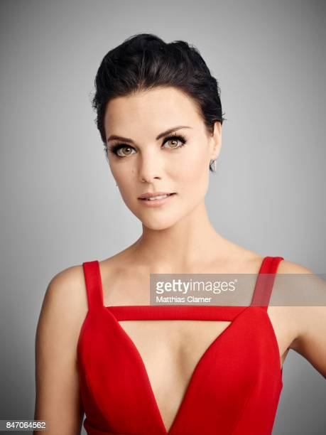 Actress Jaimie Alexander from 'Blindspot' is photographed for Entertainment Weekly Magazine on July 23 2016 at Comic Con in the Hard Rock Hotel in...