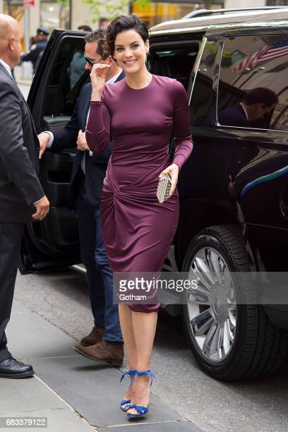 Actress Jaimie Alexander is seen in Midtown on May 15 2017 in New York City