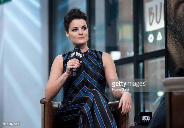 Actress Jaimie Alexander visits Build Series to discuss Blindspot at Build Studio on October 27 2017 in New York City
