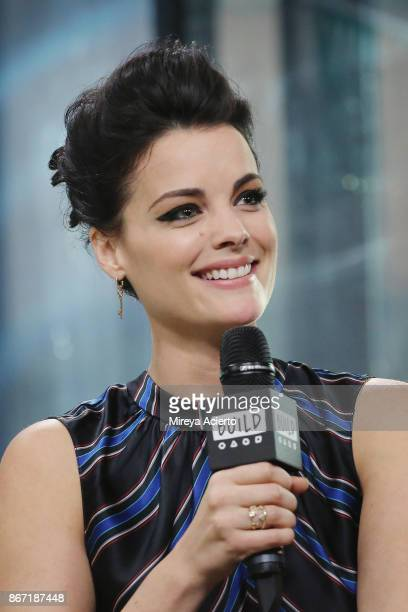 Actress Jaimie Alexander visits BUILD to discuss Blindspot at Build Studio on October 27 2017 in New York City
