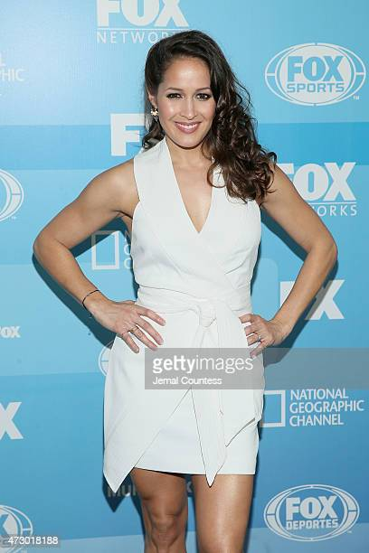 Actress Jaina Lee Ortiz attends the 2015 FOX programming presentation at Wollman Rink in Central Park on May 11 2015 in New York City
