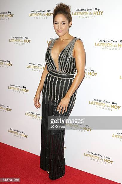 Actress Jaina Lee Ortiz attends the 2016 Latinos de Hoy Awards at Dolby Theatre on October 9, 2016 in Hollywood, California.