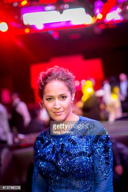 Actress Jaina Lee Ortiz attends the 2016 Latino's De Hoy Awards Reception at the OHM Nightclub on October 9 2016 in Hollywood California