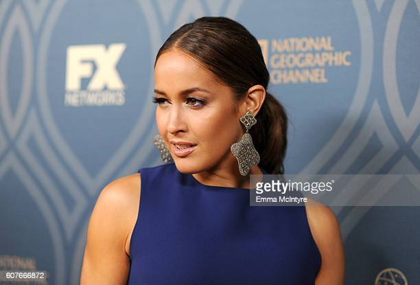 Actress Jaina Lee Ortiz attends the FOX Broadcasting Company FX National Geographic And Twentieth Century Fox Television's 68th Primetime Emmy Awards...