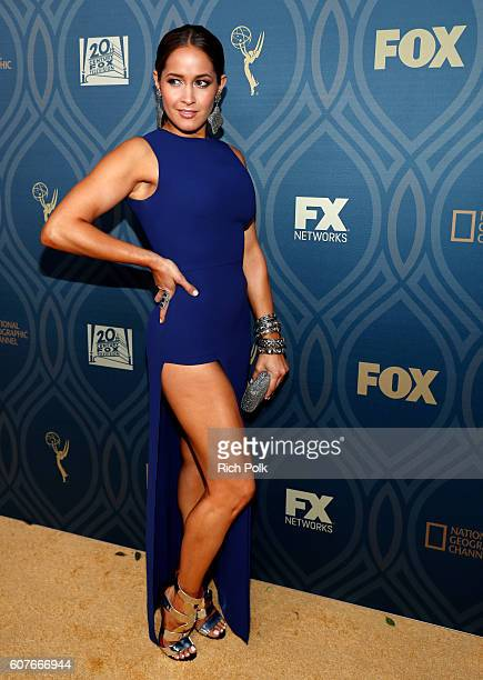 Actress Jaina Lee Ortiz attends the FOX Broadcasting Company, FX, National Geographic And Twentieth Century Fox Television's 68th Primetime Emmy...
