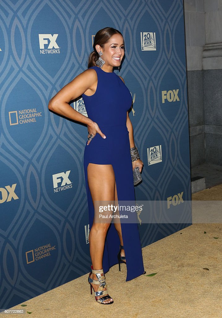 Actress Jaina Lee Ortiz attends the FOX broadcasting company, FX, National Geographic and Twentieth Century Fox Television's 68th Primetime Emmy Awards After Party at Vibiana on September 18, 2016 in Los Angeles, California.
