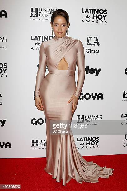 Actress Jaina Lee Ortiz attends The Los Angeles Times and Hoy 2015 Latinos de Hoy Awards at Dolby Theatre on October 11, 2015 in Hollywood,...