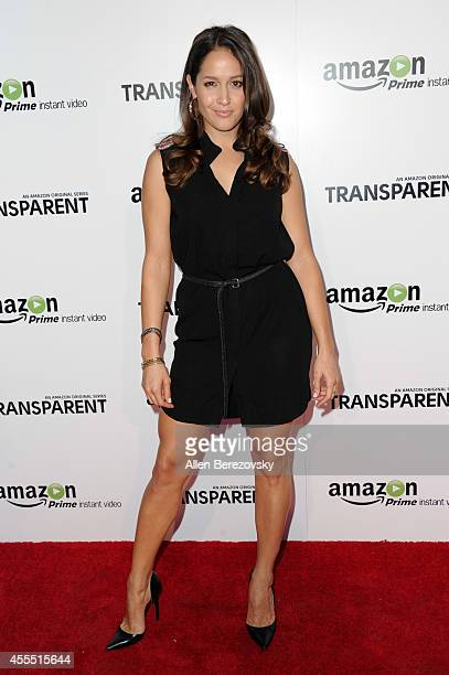 Actress Jaina Lee Ortiz attends the Premiere of Amazon's Transparent at Ace Hotel on September 15 2014 in Los Angeles California