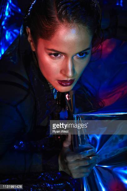 Actress Jaina Lee Ortiz is photographed for Rogue Magazine on May 9, 2018 in Los Angeles, California.
