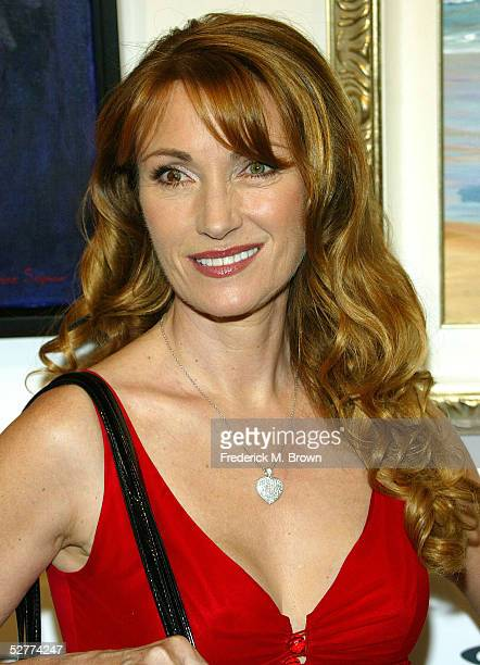 Actress Jame Seymour attends the opening of her new art gallery on May 7 2005 in Los Angeles California