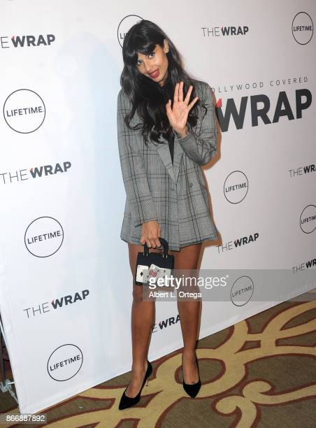 Actress Jameela Jamil arrives for TheWrap's Power Women the opening night of the Mallorca International Film Festival 2017 held at Montage Beverly...