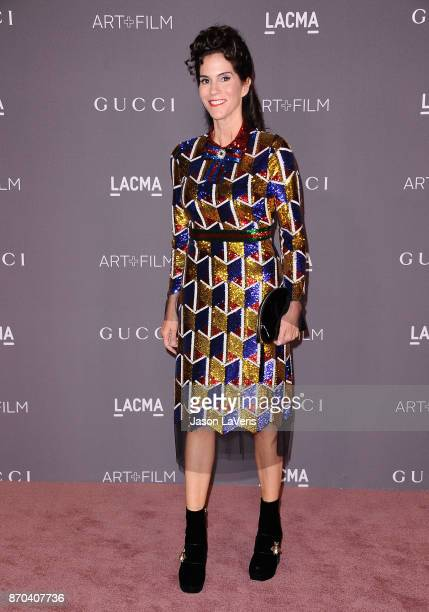 Actress Jami Gertz attends the 2017 LACMA Art Film gala at LACMA on November 4 2017 in Los Angeles California