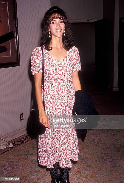 Actress Jami Gertz attends the ABC Summer TCA Press Tour on July 21 1991 at Universal Hilton Hotel in Universal City California
