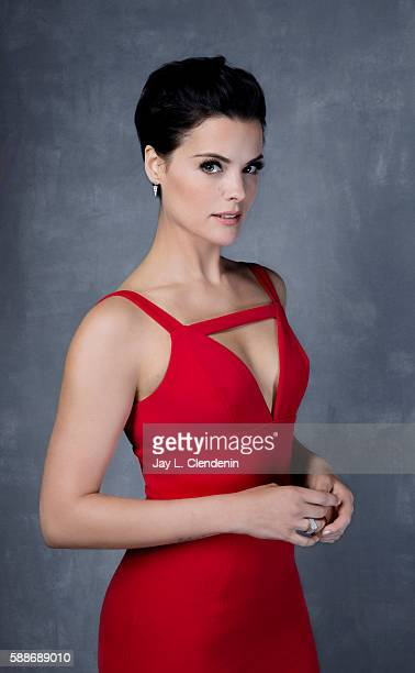 Actress Jamie Alexander of 'Blindspot' is photographed for Los Angeles Times at San Diego Comic Con on July 22 2016 in San Diego California
