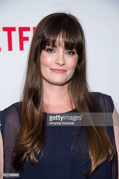Actress Jamie Anne Allman arrives at the Los Angeles premiere of Season 4 of the Netflix Original Series The Killing at ArcLight Hollywood on July 14...