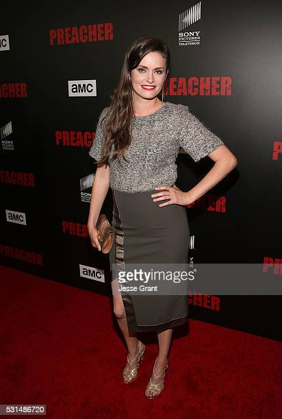 Actress Jamie Anne Allman attends the Los Angeles Premiere of AMC's Preacher on May 14 2016 in Los Angeles California