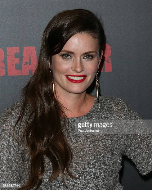 Actress Jamie Anne Allman attends the premiere of AMC's Preacher at Regal LA Live Stadium 14 on May 14 2016 in Los Angeles California