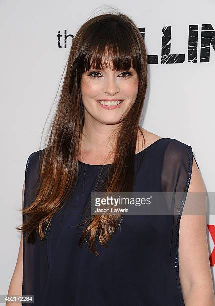Actress Jamie Anne Allman attends the season 4 premiere of The Killing at ArcLight Hollywood on July 14 2014 in Hollywood California