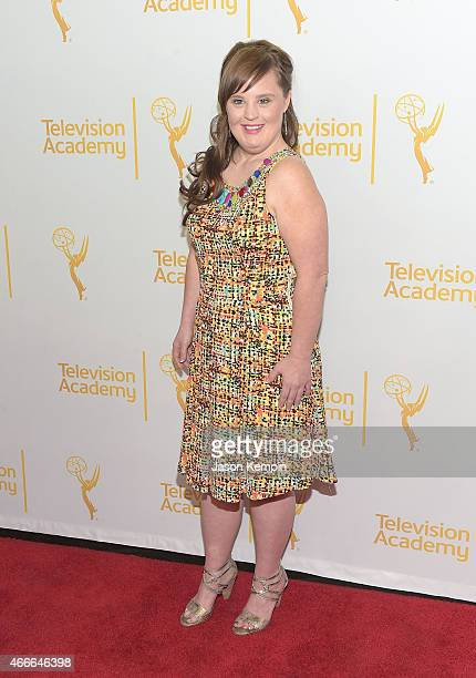 Actress Jamie Brewer attends the Television Academy Presents An Evening With The Women Of 'American Horror Story' at The Montalban on March 17 2015...