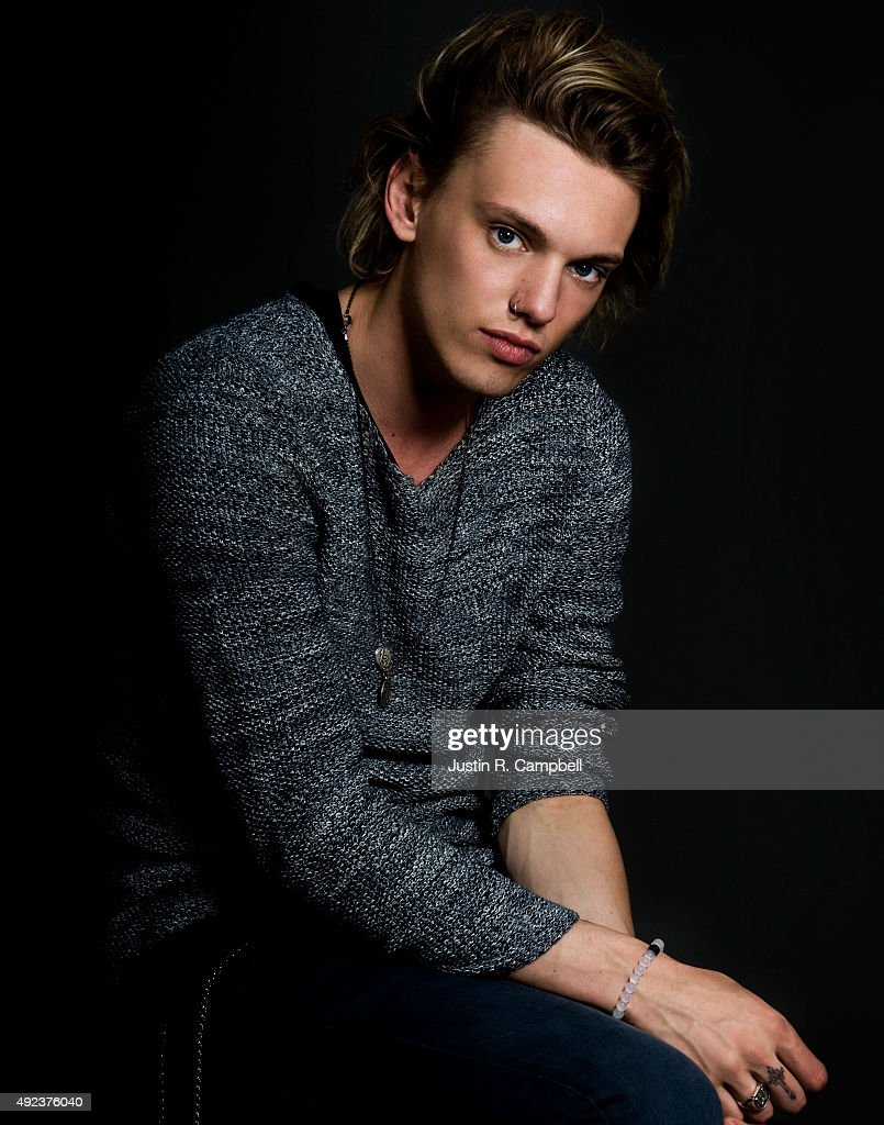Jamie Campbell Bower, Just Jared, August 28, 2013