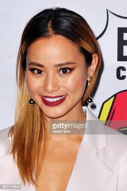 Actress Jamie Chung arrives at Entertainment Weekly's Annual ComicCon Party at Float at Hard Rock Hotel San Diego on July 22 2017 in San Diego...