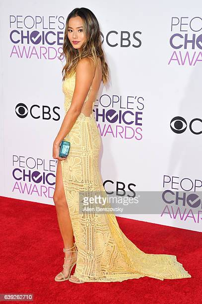 Actress Jamie Chung arrives at People's Choice Awards 2017 at Microsoft Theater on January 18 2017 in Los Angeles California