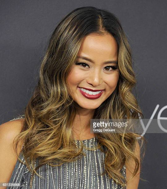 Actress Jamie Chung arrives at the 18th Annual PostGolden Globes Party hosted by Warner Bros Pictures and InStyle at The Beverly Hilton Hotel on...