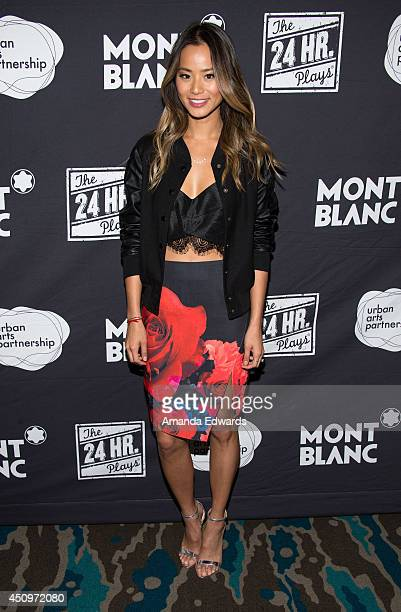 Actress Jamie Chung arrives at the afterparty for the 4th annual production of The 24 Hour Plays In Los Angeles benefitting Urban Arts Partnership at...