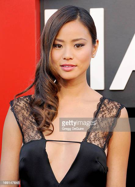 Actress Jamie Chung arrives at the Los Angeles premiere of 'The Hangover III' at Mann's Village Theatre on May 20 2013 in Westwood California