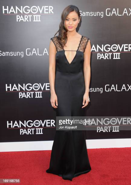 Actress Jamie Chung arrives at the Los Angeles Premiere 'The Hangover Part III' at Westwood Village Theatre on May 20 2013 in Westwood California