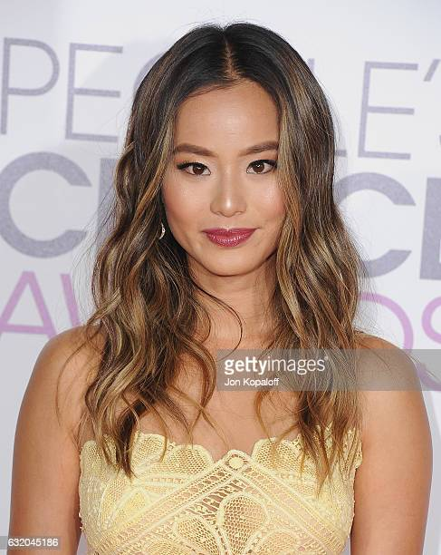 Actress Jamie Chung arrives at the People's Choice Awards 2017 at Microsoft Theater on January 18 2017 in Los Angeles California