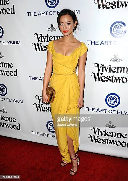Actress Jamie Chung attends Art of Elysium's 9th annual Heaven Gala at 3LABS on January 9 2016 in Culver City California