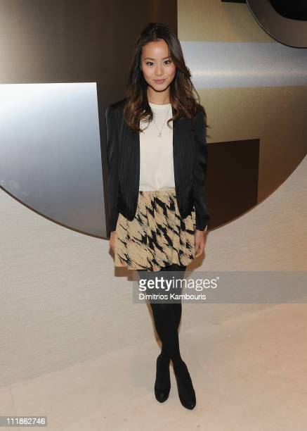 Actress Jamie Chung attends Elie Tahari's Emmy Bag Launch Benefiting Safe Horizon at the Elie Tahari Boutique Soho on April 7 2011 in New York City