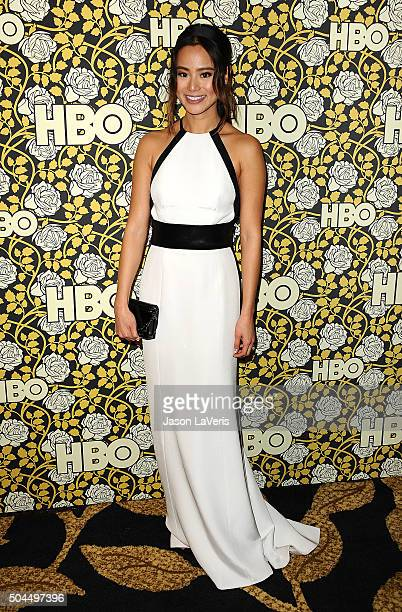 Actress Jamie Chung attends HBO's post 2016 Golden Globe Awards party at Circa 55 Restaurant on January 10 2016 in Los Angeles California
