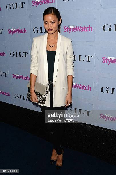 Actress Jamie Chung attends People StyleWatch Denim Awards presented by GILT at Palihouse on September 19 2013 in West Hollywood California