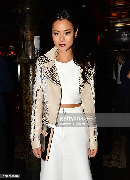 Actress Jamie Chung attends Sony Pictures Classics' 'Only Lovers Left Alive' screening hosted by The Cinema Society and Stefano Tonchi Editor in...