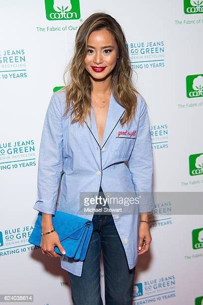 Actress Jamie Chung attends the 10th Anniversary of the Blue Jeans Go Green Denim Recycling Program celebration on November 17 2016 in New York City