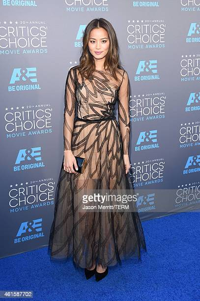 Actress Jamie Chung attends the 20th annual Critics' Choice Movie Awards at the Hollywood Palladium on January 15 2015 in Los Angeles California