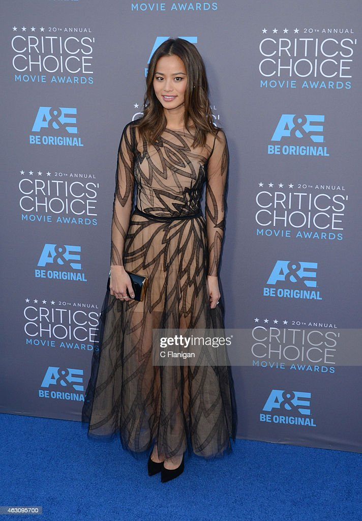 Actress Jamie Chung attends The 20th Annual Critics' Choice Movie Awards at Hollywood Palladium on January 15, 2015 in Los Angeles, California.