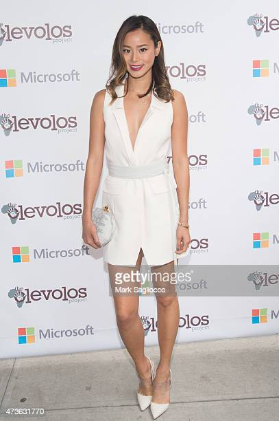 Actress Jamie Chung attends the 4th Annual Olevolos Project Brunch at Gallow Green at the McKittrick Hotel on May 16 2015 in New York City